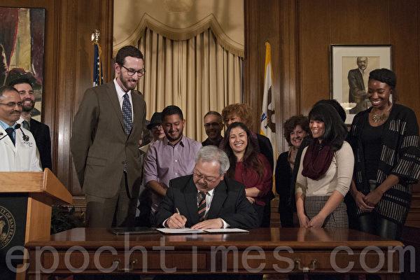 舊金山市長簽字 購菸年齡限制提高到21歲