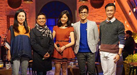 《音乐万万岁3》左起黄韵玲、郭蘅祈、关诗敏、徐帆、林俊逸。(公视提供)