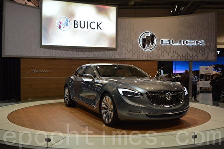 2016年3月9日-13日,卡尔加里国际汽车展在BMO中心举办。图为2017 Buick概念车。(黄钟乐/大纪元)