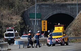 日广岛隧道现大车祸 12车连环相撞酿火警