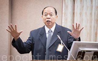 国安局长杨国强17日表示,国安局研判中共可能采取关闭协商机制、停止陆客来台、在国际上采取外交施压等3种手段。(陈柏州/大纪元)