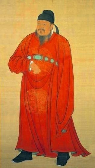 建立唐朝的唐高祖李淵,唐畫院畫師繪(公共領域)