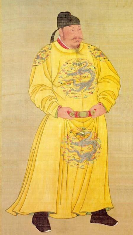 唐太宗畫像,唐畫院畫師繪(公共領域)