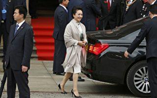 彭丽媛多次随习近平出访。资料图片(AFP)