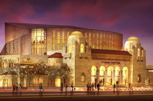 美国德州圣安东尼奥特宾表演艺术中心,迎来神韵巡回艺术团3月18至20日在当地上演3天4场的精彩演出。(圣安东尼奥特宾表演艺术中心官网)