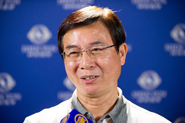 台湾游艇同业公会理事长张嘉豪(罗瑞勋/大纪元)