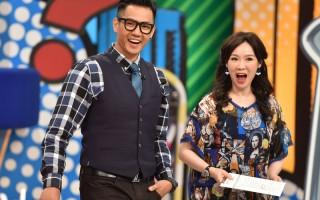 徐薇、陈建州(右)日前在搭档主持的节目中分享在职场的经验谈。(联意制作提供)