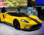 2016紐約國際車展倩車搶先看。Ford GT(戴兵/大紀元)