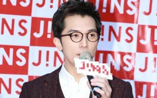 邱泽在大台中地区出席日系眼镜品牌开幕活动。(公关提供)