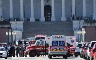 3月28日,美国国会大厦发生枪击案。(Win McNamee/Getty Images)