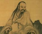 南宋画家马麟所画的伏羲坐像,现藏台北国立故宫博物院。(公有领域)