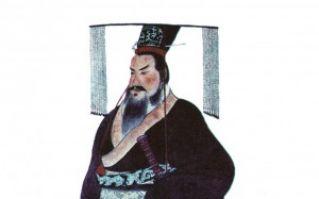 秦始皇畫像(公共領域)