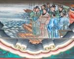 頤和園長廊彩繪:曹操賦詩(Shizhao/維基百科)