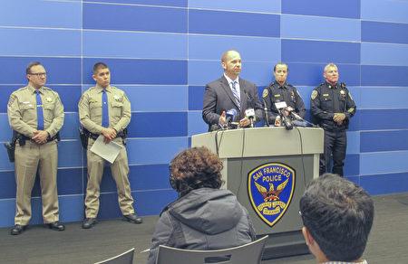 旧金山警方3月23日公布调查结果,认为去年11月的车祸是因为司机操作错误造成的。(李文净/大纪元)