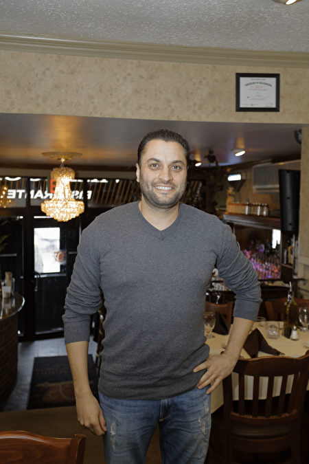 Sangria餐厅老板Joe先生(张学慧/大纪元)
