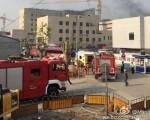 上海虹桥机4月29日上午7时许,上海虹桥机场一号航站楼地下空间改造工程突发火灾,已造成2人死亡4人受伤。(网络图片)