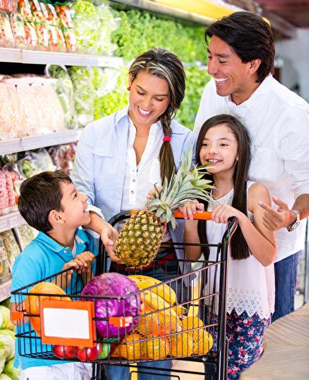 不要在肚子餓的時後去採買食物以免構成浪費。(Fotolia)