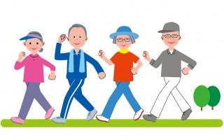 最新研究发现,走路能预防失智症、癌症、高血压等疾病。(大纪元图片库)