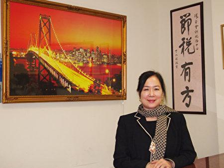 环亚会计税务中心负责人吴思嘉(大纪元图片)
