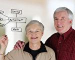 一對已婚夫婦規劃自己的退休生活(fotolia)