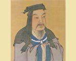 魏太祖曹操彩像,明人绘。(公有领域)