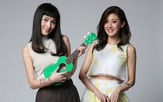 林逸欣(右)將攜手好姐妹管罄,舉行全台6場售票音樂會巡迴表演。(喜歡音樂提供)