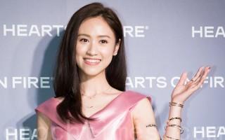 艺人吴姗儒4月6日在台北出席珠宝活动。(陈柏州/大纪元)