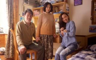 人生劇展《衣櫃裡的貓》劇照,左起為雲中岳、柯素雲、姚以緹。(公視提供)