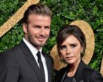 贝克汉姆和维多利亚夫妇资料照。(JEWEL SAMAD/AFP/Getty Images)