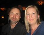 建筑承包商Jason Blakemore与太太Anita Blakemore于2016年4月29日晚观看了神韵纽约艺术团今年在加州圣巴巴拉格兰纳达剧院的首场演出。(李清怡/大纪元)
