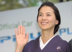 日本女星江角真纪子。(Koki Nagahama/Getty Images)