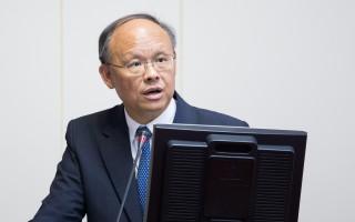 经济部长邓振中6日表示,货贸在条文部分几乎都已经达成协议,但在市场开放(降税)部分,台湾期盼大陆能做更大幅度开放。(陈柏州/大纪元)