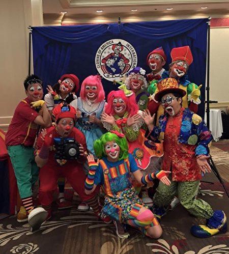 亚洲小丑团。(宜兰文化局提供)