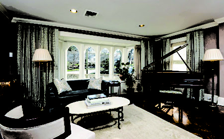 81 Tanglewylde Avenue最宜居住的完美之宅。(Houlihan Lawrence提供)