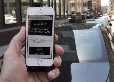 機場大樓運營商們正在考慮為優步(Uber)建立一個專屬接機地帶。(大紀元)