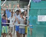 馬努斯島拘留中心難民。(澳新社)
