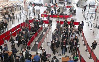 美机场预检功能失灵 旅客宜提早2小时安检