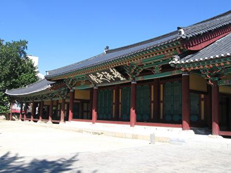 全州古典建筑的一角。(维基百科)