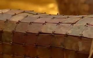 金縷玉衣絲線編織(網路擷圖)