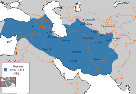 Ilkhanate_in_1256–1353