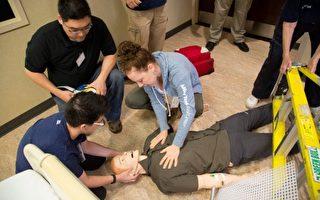 圣名医院举办心肺复苏培训  华人踊跃参加
