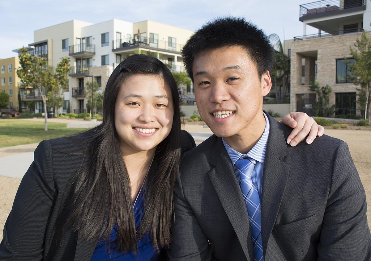 图:华裔律师本不多,华裔刑事辩护律师更是凤毛麟角。加州圣地亚哥华裔律师兄妹王纬展(Thomas Wang)和王庭祤(Ariel Chiu)双双出道刑事辩护律师,引人注目。(杨婕/大纪元)