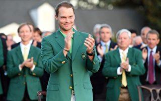 美國大師賽 英格蘭人威利特首穿綠夾克