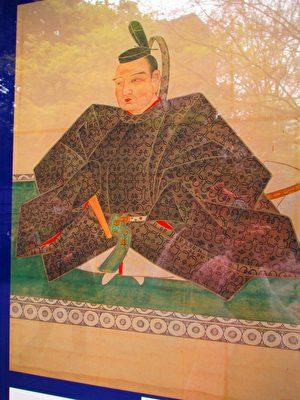 小石川后乐园的二代藩主德川光圀。(容乃加/大纪元)