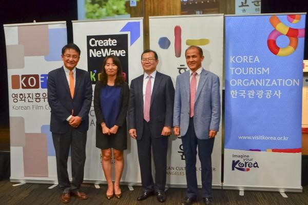 韓流再度襲美 觀光局推廣韓國旅遊及文化
