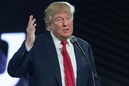 美共和党参选人川普(NICHOLAS KAMM/AFP/Getty Images)