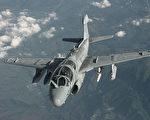 美國歐洲司令部宣佈,海軍陸戰隊EA-6B徘徊者飛機一個中隊已前往土耳其因吉爾利克空軍基地(Incirlik Air Base),展開打擊IS的行動,此次派遣是為了打擊IS組織的通訊能力。(維基百科公有領域)