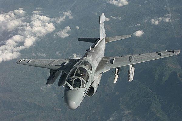 美軍「徘徊者」電子戰飛機加入打擊IS