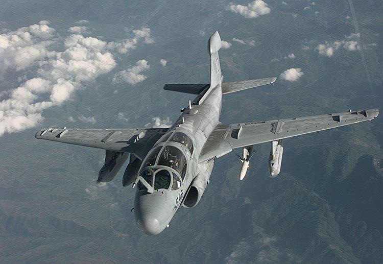 美軍「徘徊者」電子戰飛機加入打擊IS - 大紀元