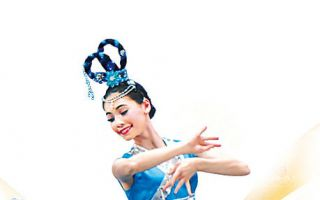 主办本次大赛的新唐人电视台香港分站总经理朱长民介绍,中国古典舞是五千年中华神传文化的承传和延续方式之一,是建立在深厚的传统美学基础上的舞蹈艺术。图为上届大赛女子青年组冠军周晓。(大纪元)